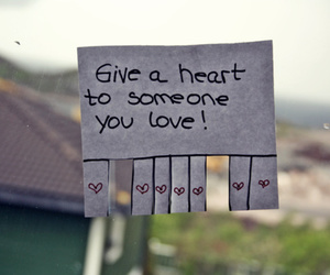 love, heart, and quotes image