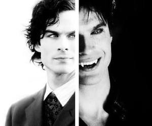 damon salvatore, tvd, and ian somerhalder image