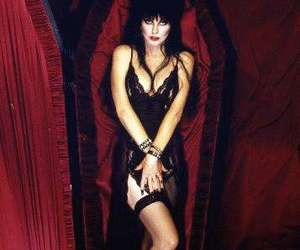 elvira and coffin image