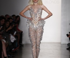 dress, vestiti, and the blonds fashion image