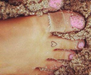 heart, tattoo, and ariana grande image