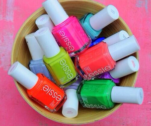*-* and essie image