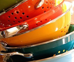 colander and colorful image