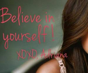 Adriana Lima, believe, and friendship image