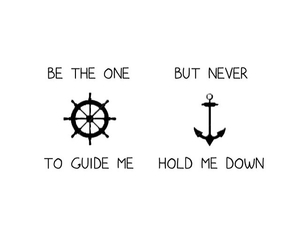 quotes, anchor, and overlay image