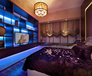 luxury, bedroom, and decor image