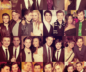 glee, darren criss, and amber riley image