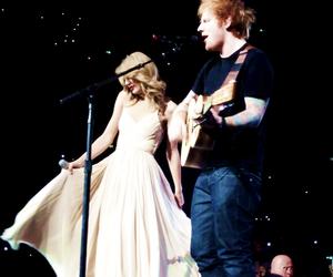 Taylor Swift, ed sheeran, and sweeran image