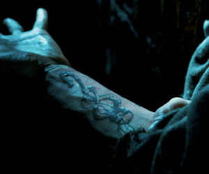 harry potter, death eater, and death eaters image