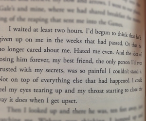 best friends, book, and katniss image