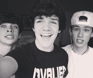 aaron carpenter, hayes grier, and magcon image