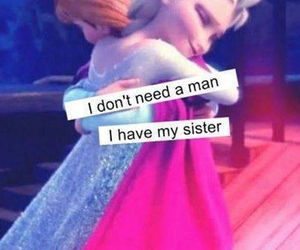 sisters, frozen, and elsa image