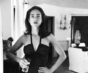 black and white and jennifer conelly image