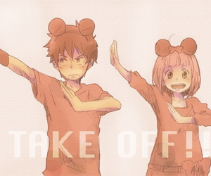 anime, ao no exorcist, and take off image