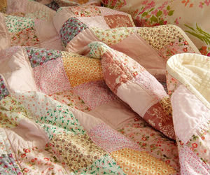 quilt, blanket, and patchwork image