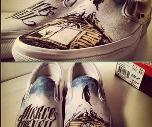 pierce the veil, shoes, and collide with the sky image
