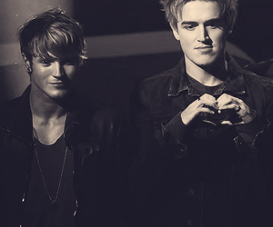 dougie poynter, McFly, and tom fletcher image