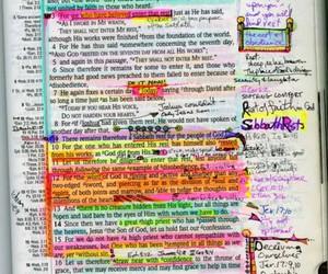 bible, god, and highlight image
