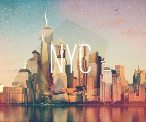 city, nyc, and new image