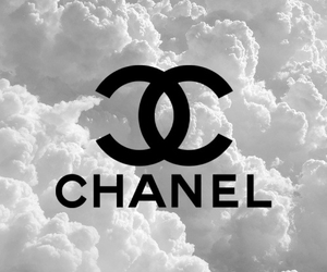 chanel, wallpaper, and clouds image