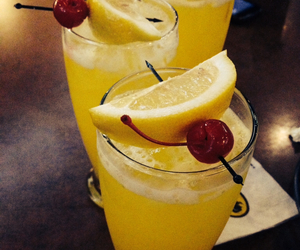 cherry, fun, and lemonade image