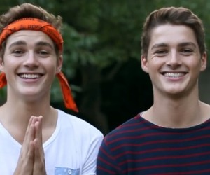 jack, finn, and twins image