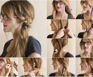 diy, Prom, and hairstyle image