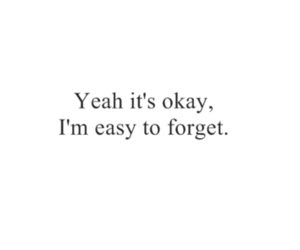 forget, quotes, and Easy image