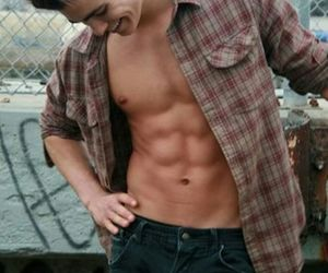 boy, abs, and sexy image