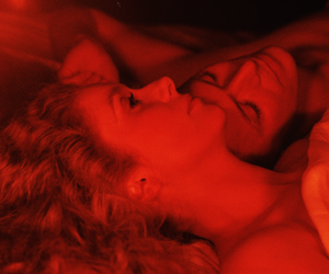 catherine deneuve, the hunger, and david bowie image