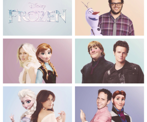 frozen, anna, and hans image