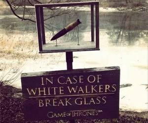 game of thrones, white walkers, and funny image