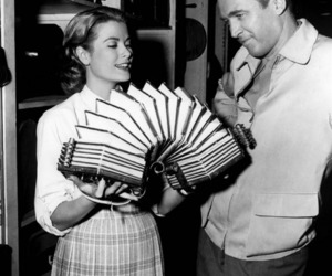 grace kelly, 50s, and james stewart image