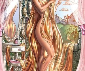rapunzel, sexy, and disney image