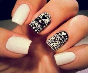 cool, cute, and manicure image