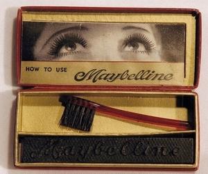 Maybelline, mascara, and vintage image
