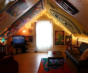 hipster, room, and indie image