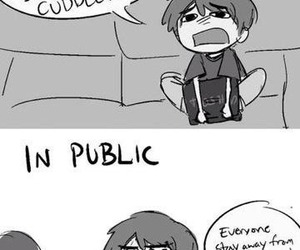 funny, lonely, and public image