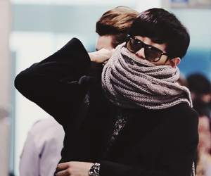 airport, exo, and chanyeol image