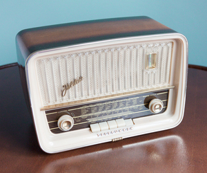 50s, cute, and radio image