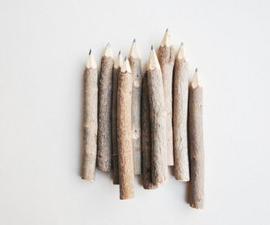 pencil, wood, and nature image