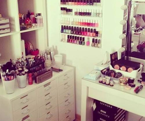 hobby, makeup, and room image