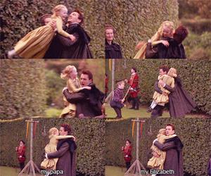 elizabeth I, henry viii, and The Tudors image