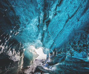 nature, blue, and ice image
