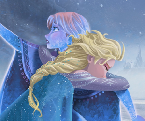 anna, sisters, and frozen image