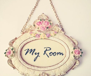 room, flowers, and quote image