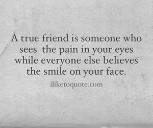 quote, face, and pain image