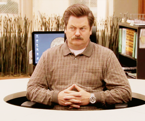 parks and recreation, nick offerman, and parks and rec image