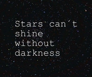 stars, Darkness, and shine image
