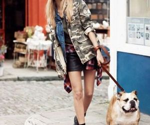 dog, model, and cara delevingne image